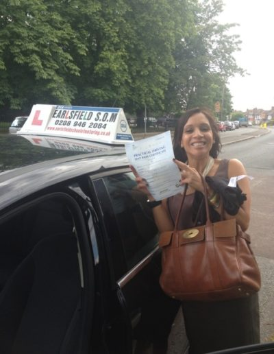 learn to drive in south west london wandsorth