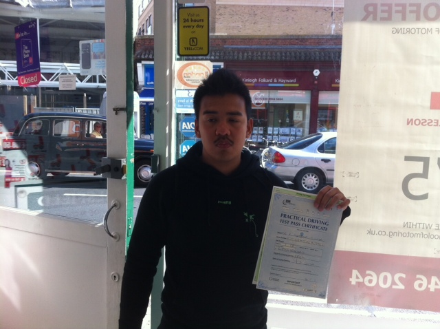 driving school in south west london